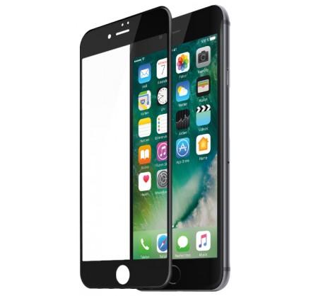 Стекло защитное iPhone 6/6s (3D) черное/белое