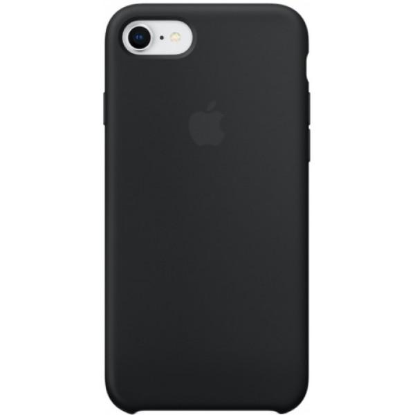 Чехол Silicone Case iPhone 7/8 черный