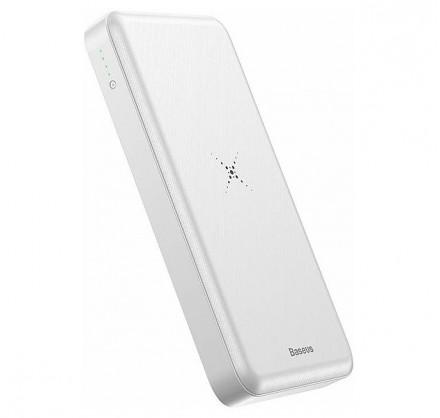 Беспроводной PowerBank Baseus 10000mAh (черный/белый)