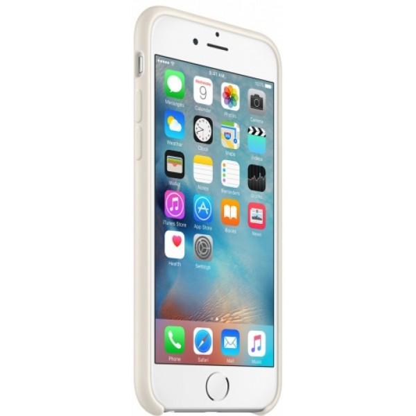 Чехол Silicone Case качество Lux для iPhone 6/6s бежевый