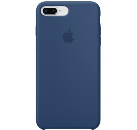 Чехол Silicone Case iPhone 7 Plus/8 Plus синий кобальт