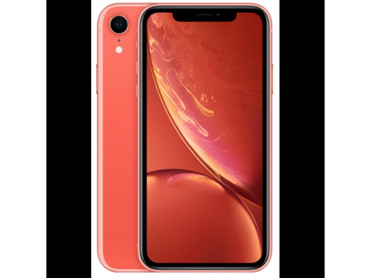 Apple iPhone XR 64GB (коралловый) в Тюмени