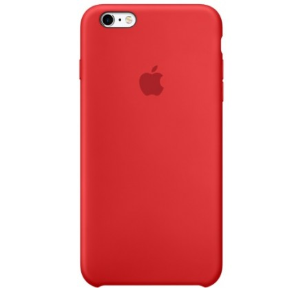 Чехол Silicone Case iPhone 6 Plus/6s Plus красный