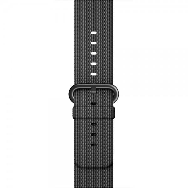 Ремешок Apple Watch 38/40мм из плетеного нейлона (темно-серый)