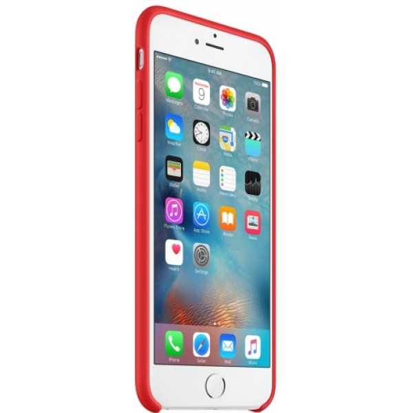 Чехол Silicone Case iPhone 6 Plus/6s Plus красный