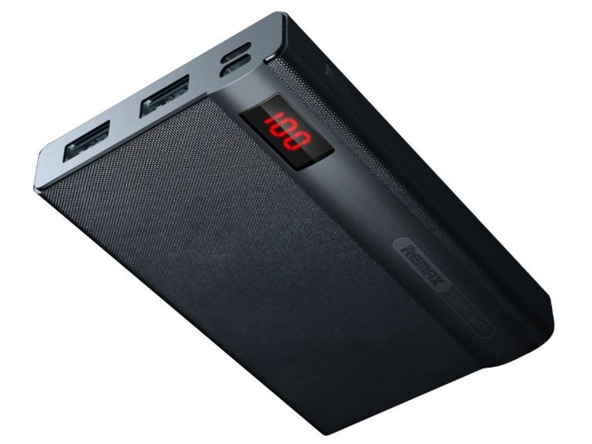 PowerBank Remax 10000mAh с разъемом Lightning (черный) в Тюмени