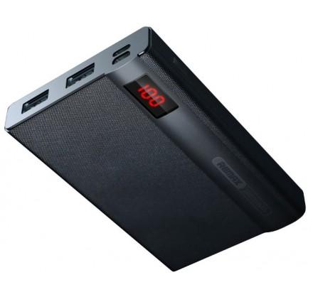 PowerBank Remax 10000mAh с разъемом Lightning (черный)