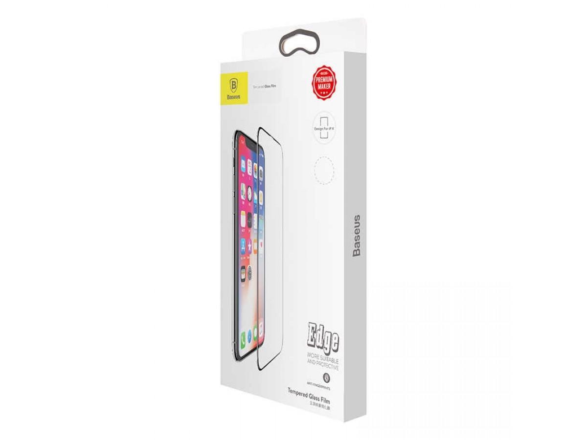 Стекло защитное iPhone X/Xs/11 Pro (3D) Baseus в Тюмени