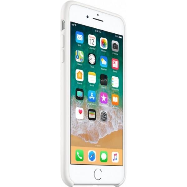 Чехол Silicone Case iPhone 7 Plus/8 Plus белый