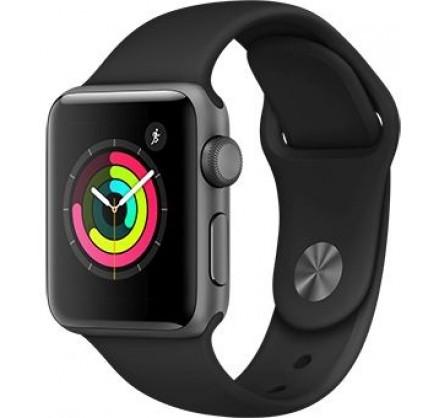 Apple Watch Series 3, 38 мм, корпус из алюминия цвета (...