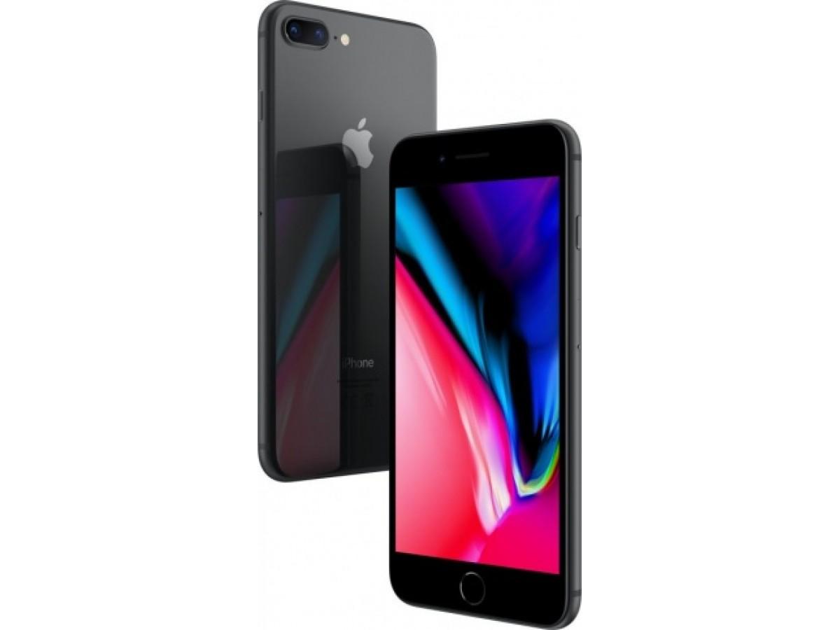 Apple iPhone 8 Plus 128GB (серый космос) в Тюмени
