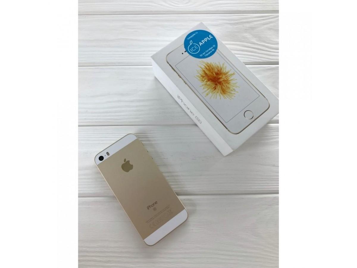 Apple iPhone SE 32gb Gold в Тюмени