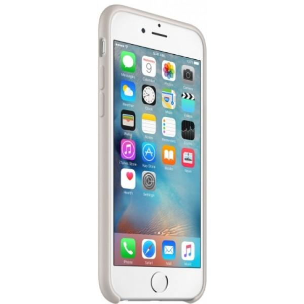 Чехол Silicone Case iPhone 6/6s светло-серый