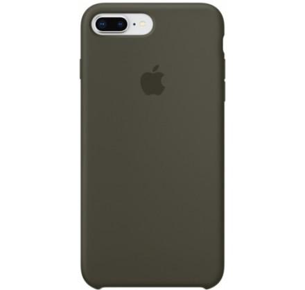 Чехол Silicone Case iPhone 7 Plus/8 Plus темно оливковы...
