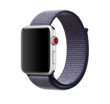 Браслет Apple Watch 38/40мм Спортивная петля (синий)