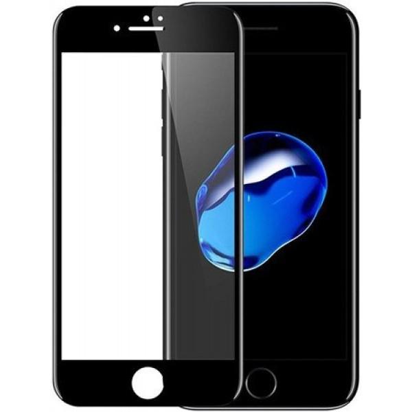 Стекло защитное iPhone 7/8/SE 2020 (3D) черное