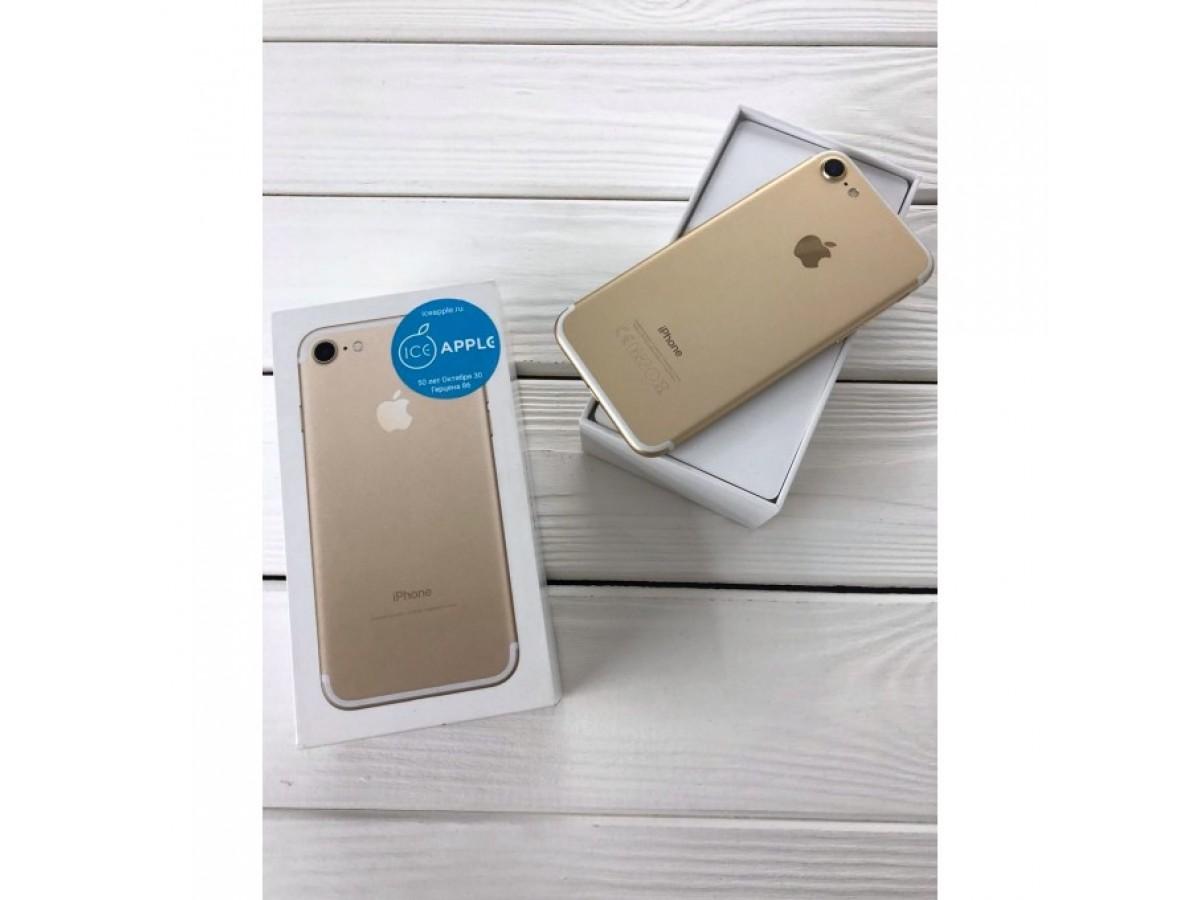 iPhone 7 128gb Gold в Тюмени