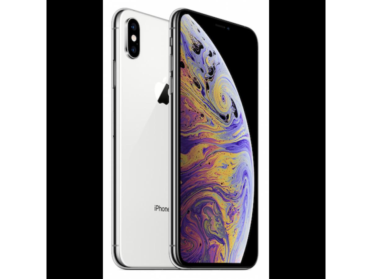 Apple iPhone XS 64GB (серебристый) в Тюмени