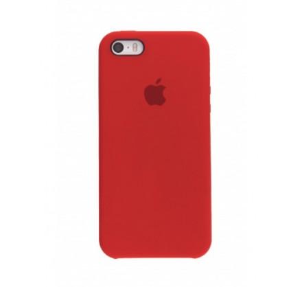 Чехол Silicone Case iPhone 5s/SE красный