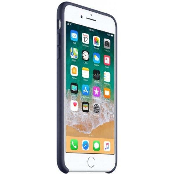 Чехол Silicone Case iPhone 7 Plus/8 Plus темно синий