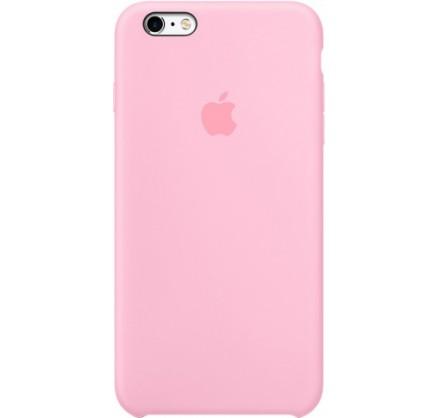 Чехол Silicone Case iPhone 6 Plus/6s Plus розовый
