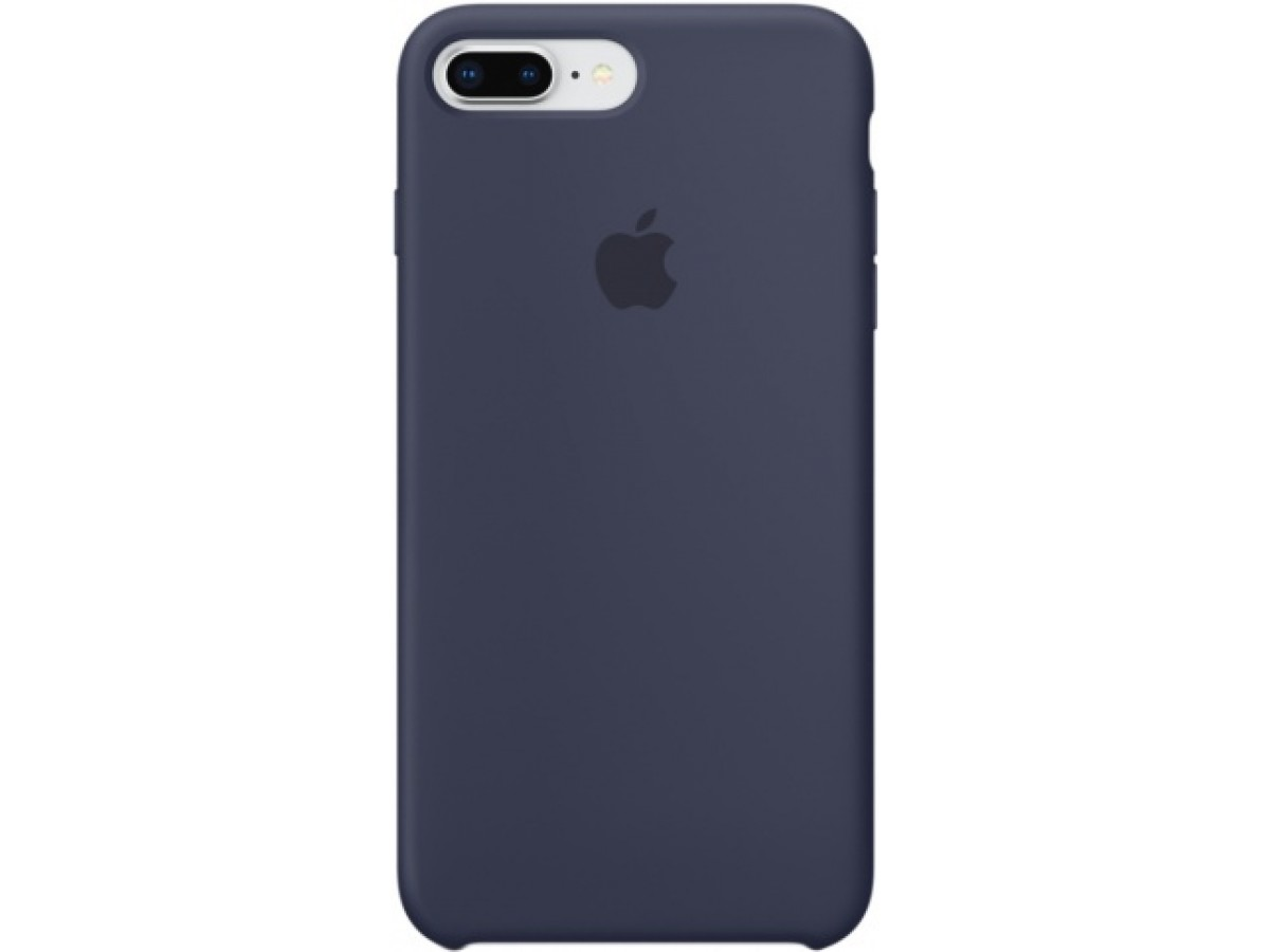 Чехол Silicone Case iPhone 7 Plus/8 Plus темно синий