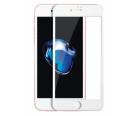 Стекло защитное iPhone 7/8/SE 2020 (3D) черное/белое
