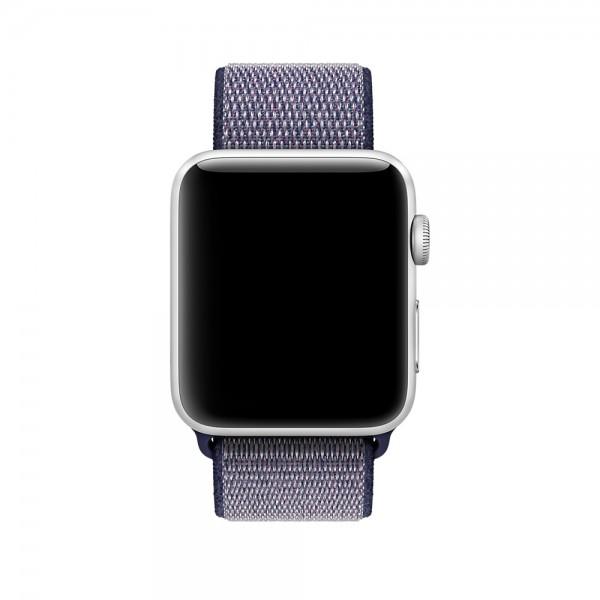 Ремешок спортивный браслет Apple Watch 38/40 мм синий