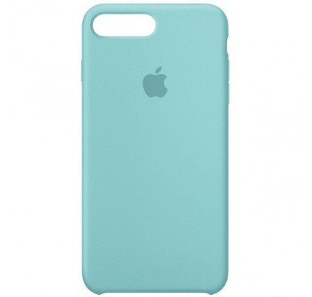 Чехол Silicone Case iPhone 7 Plus/8 Plus бирюзовый