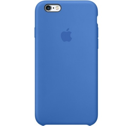 Чехол Silicone Case iPhone 6/6s синий