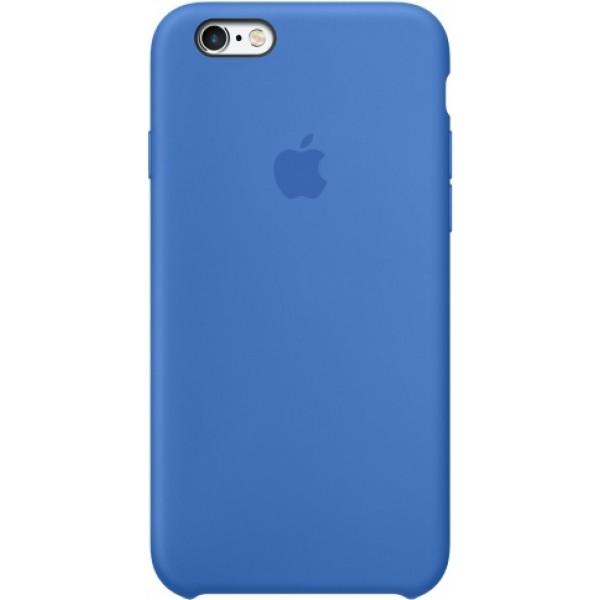 Чехол Silicone Case iPhone 6/6s синий
