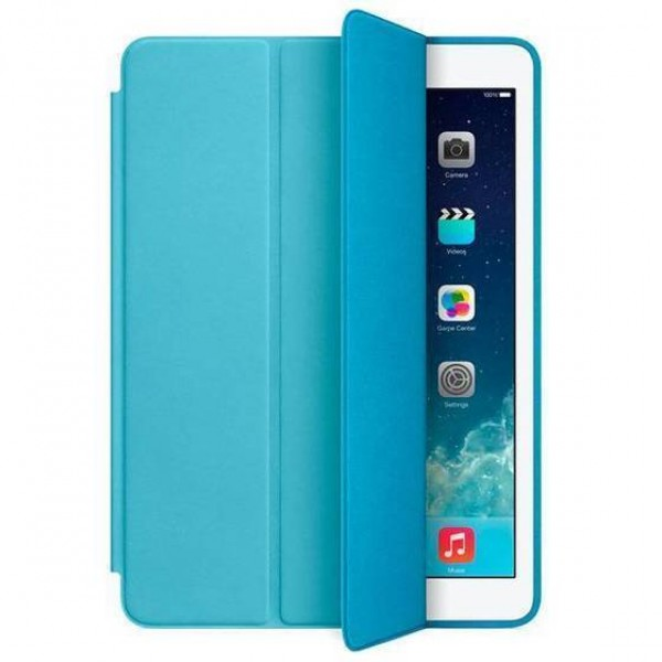 Смарт-кейс iPad 2/3/4 голубой