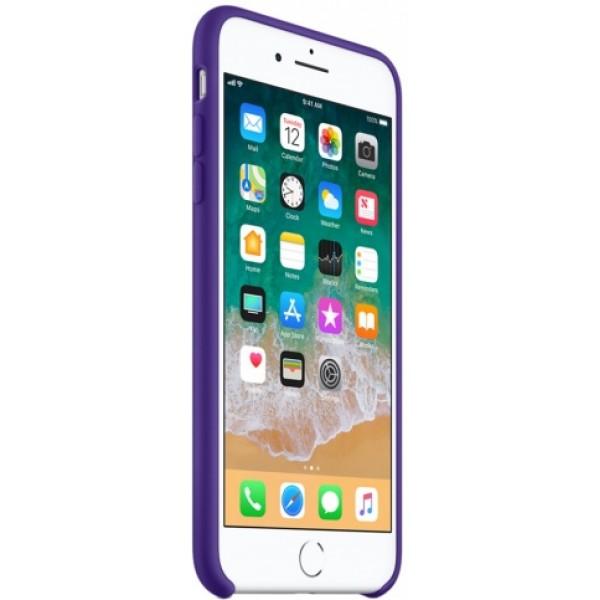Чехол Silicone Case качество Lux для iPhone 7 Plus/8 Plus фиолетовый