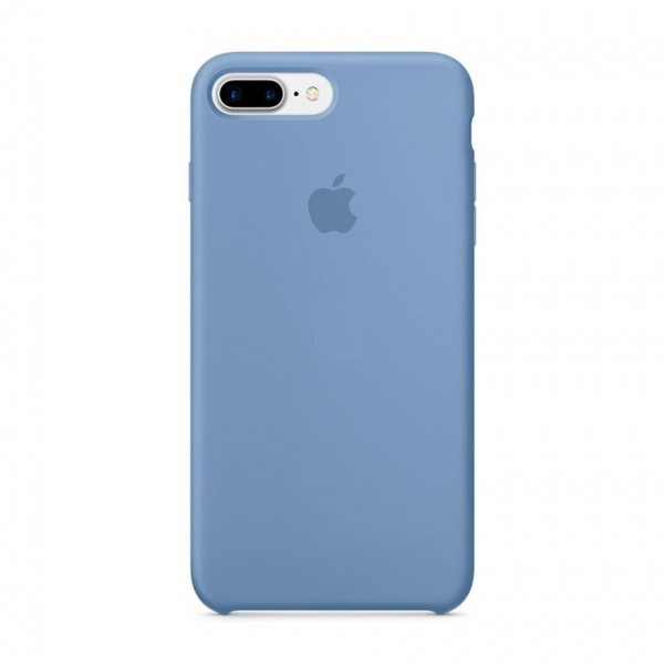 Чехол Silicone Case iPhone 7 Plus/8 Plus голубой