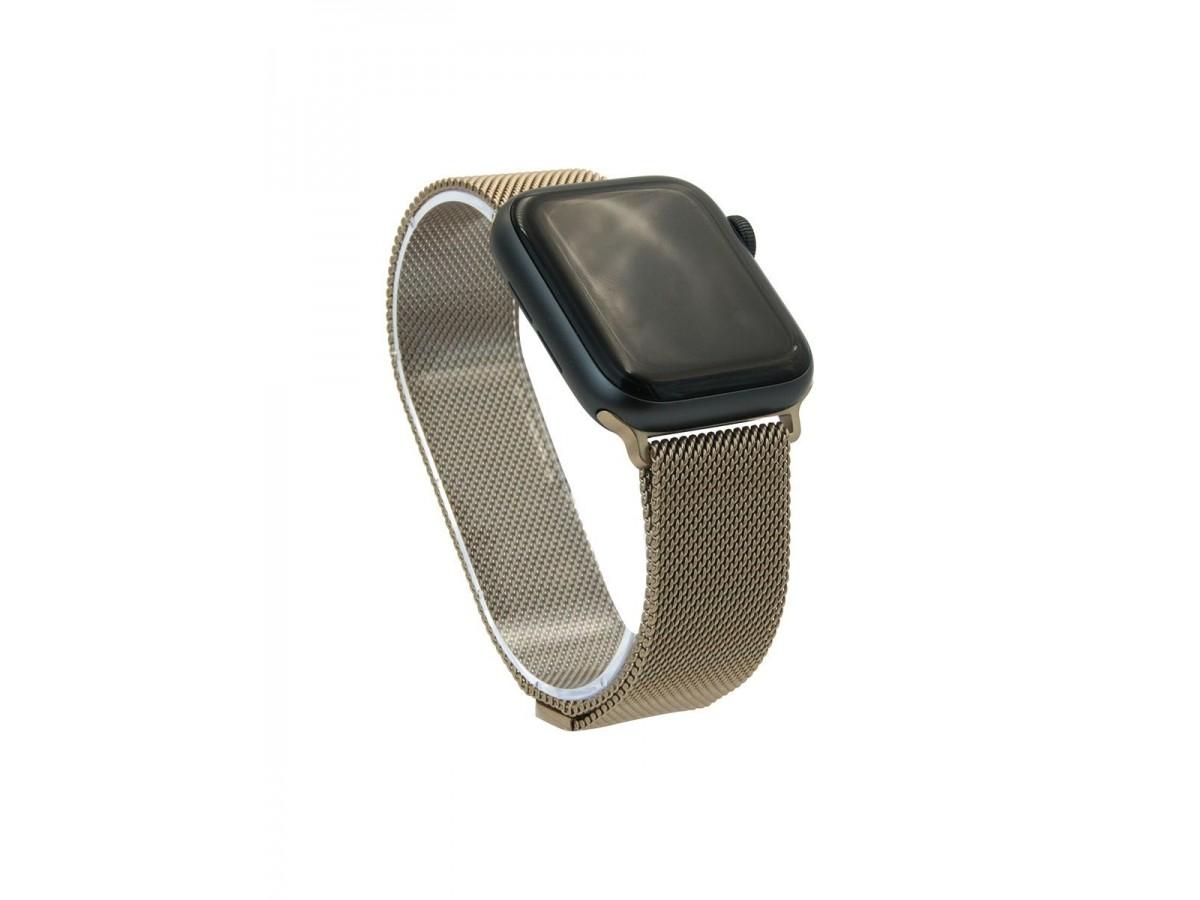 Браслет Apple Watch 38/40мм миланский сетчатый (бронзовый) в Тюмени