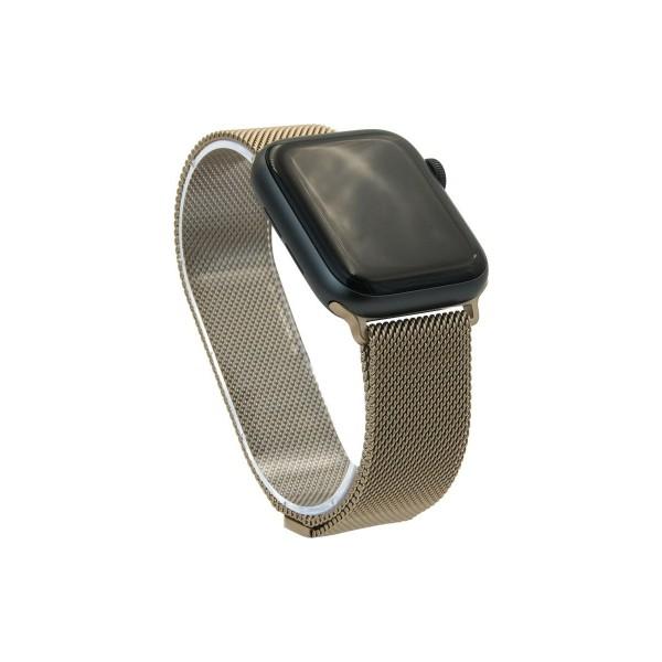 Браслет Apple Watch 38/40мм миланский сетчатый (бронзовый)