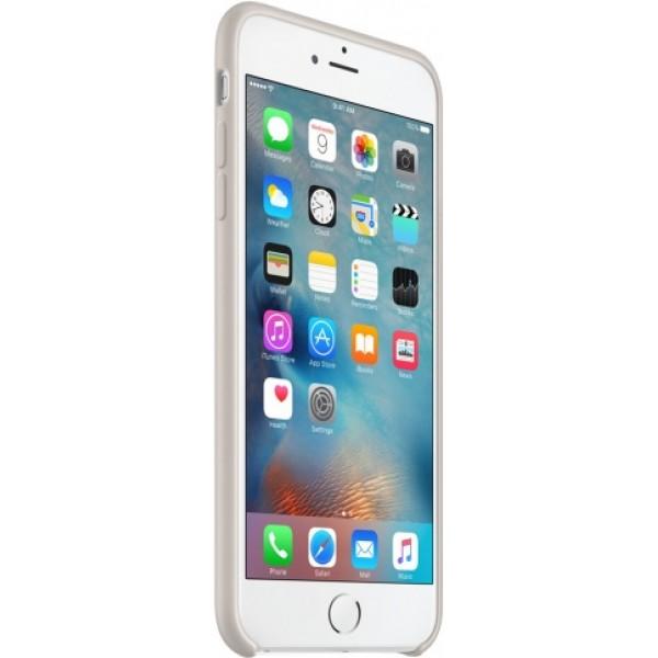Чехол Silicone Case iPhone 6 Plus/6s Plus светло-серый