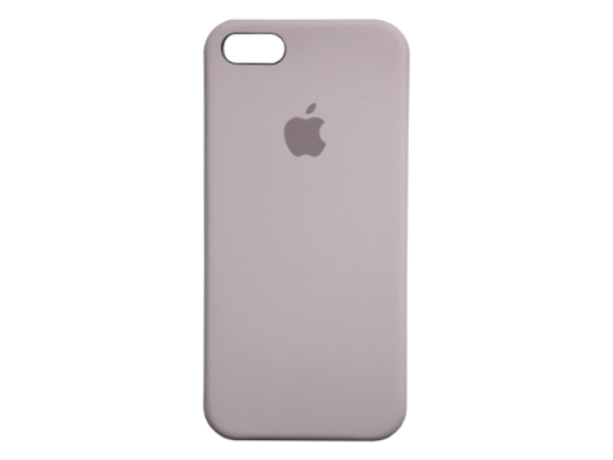 Чехол Silicone Case iPhone 5s/SE лавандовый в Тюмени