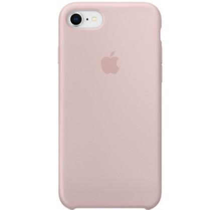 Чехол Silicone Case iPhone 7/8 светло-розовый