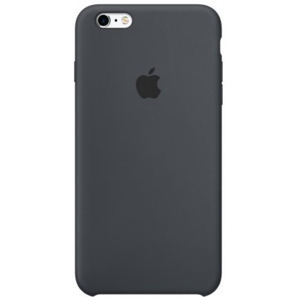 Чехол Silicone Case iPhone 6/6s темно-серый
