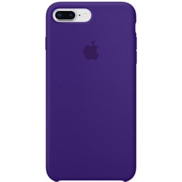 Чехол Silicone Case iPhone 7 Plus/8 Plus фиолетовый