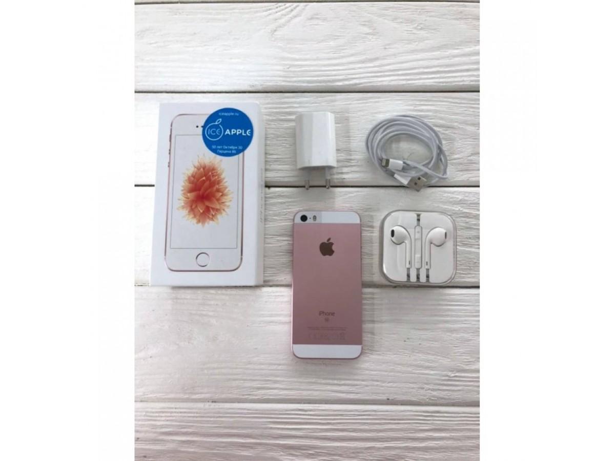 iPhone SE 32gb Rose Gold в Тюмени