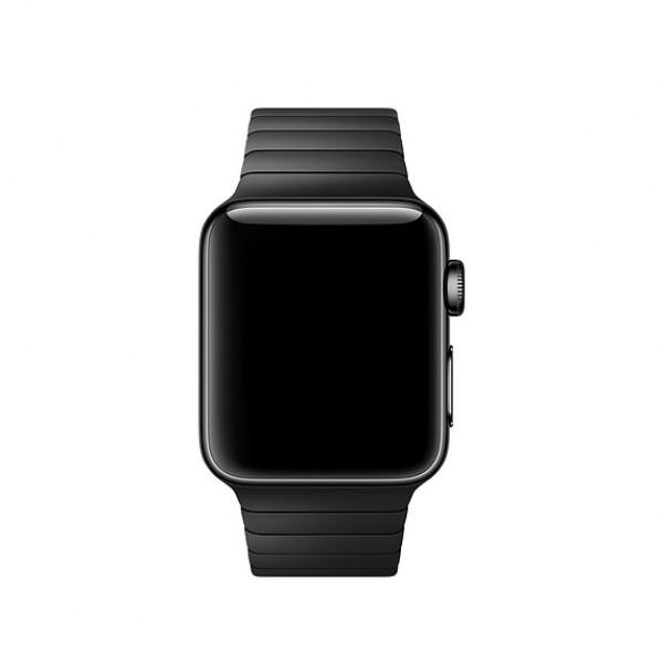 Браслет блочный Apple Watch 42/44мм, черный