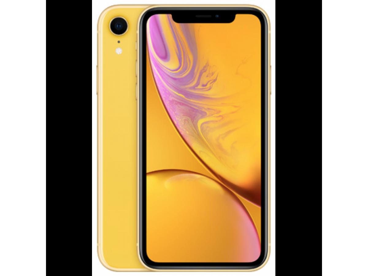Apple iPhone XR 128GB (желтый) в Тюмени