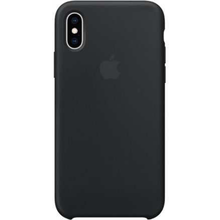 Чехол Silicone Case iPhone Xr черный