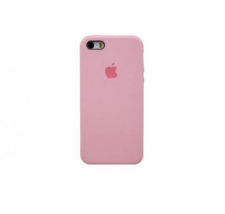 Чехол Silicone Case iPhone 5s/SE розовый