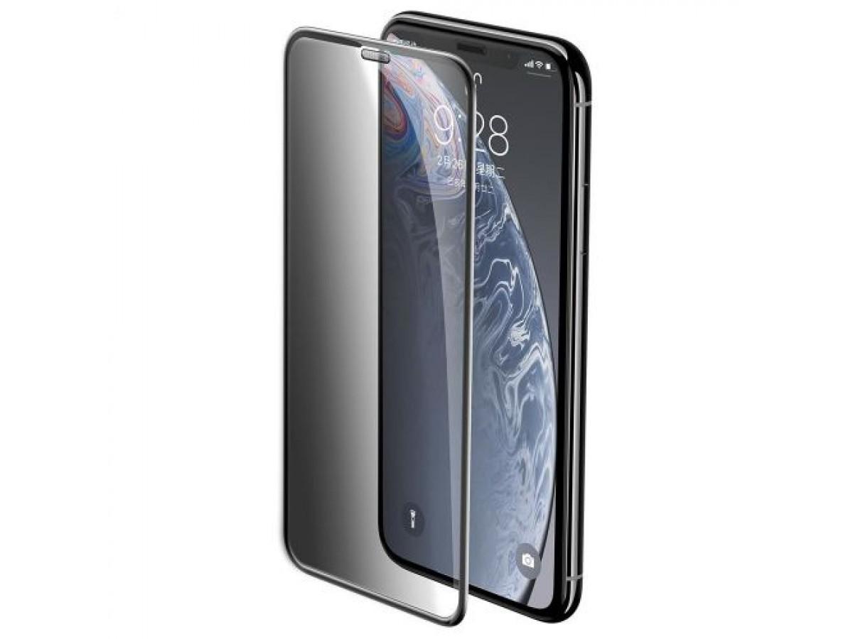Стекло защитное iPhone Xr/11 (3D) Baseus в Тюмени