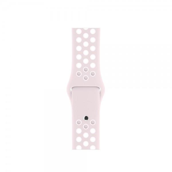 Силиконовый ремешок Apple Watch Nike 38/40мм розовый