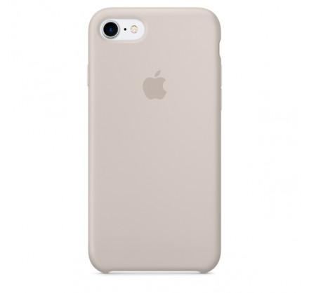 Чехол Silicone Case iPhone 7/8 светло-серый