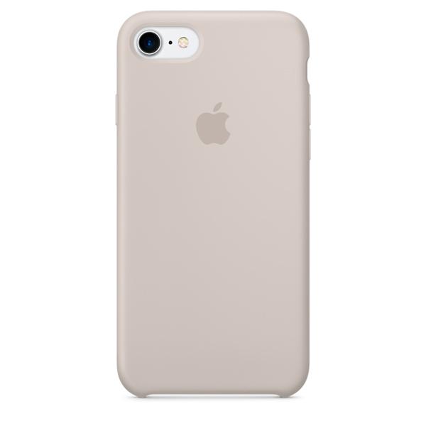 Чехол Silicone Case качество Lux для iPhone 7/8 светло-серый